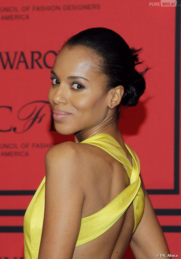 Kerry Washington mariée en secret