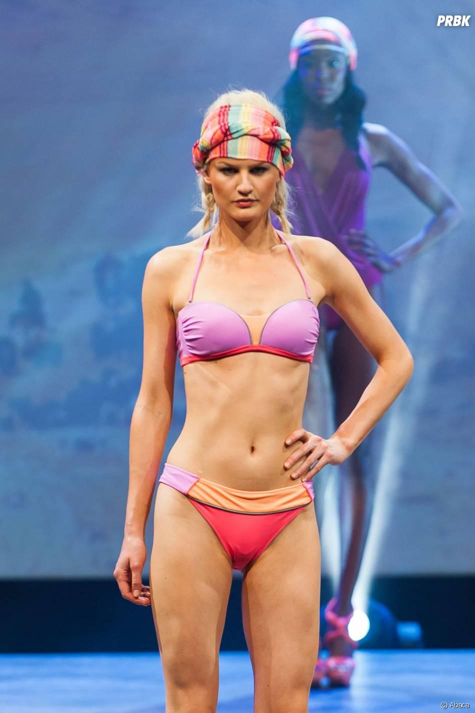 Laure Manaudou : un modèle de sa maque de maillots de bain