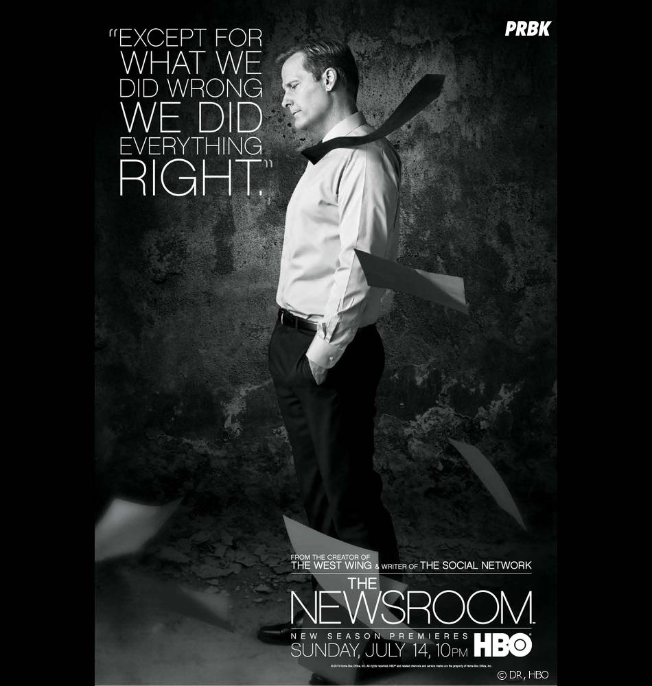 Jeff Daniels espère nous énerver avec la saison 2 de The Newsroom
