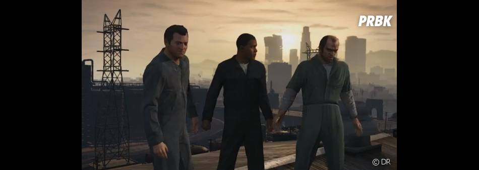 GTA 5 : le trio promet des séquences de jeu hallucinantes