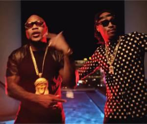 Flo Rida et Future dans le clip deTell Me When U Ready