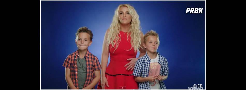 Britney Spears et ses fils dans le clip de Ooh La La