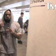 """Kanye West : le rappeur menace un paparazzi """"Ne me parle pas"""""""