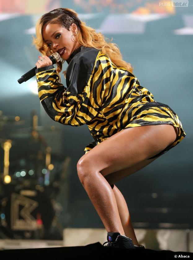 Rihanna peut danser mais pas chanter en même temps