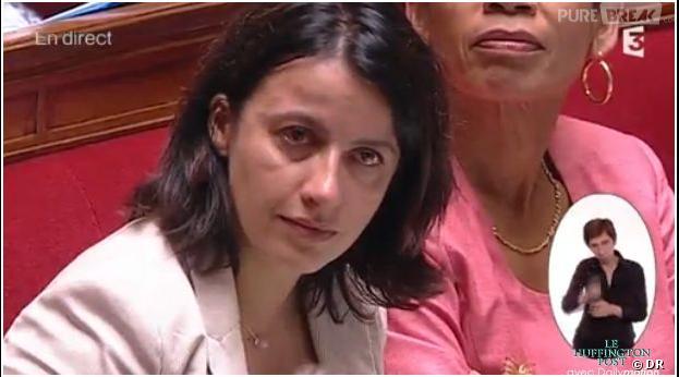 Cécile Duflot : larmes à l'Assemblée nationale le 16 juillet 2013
