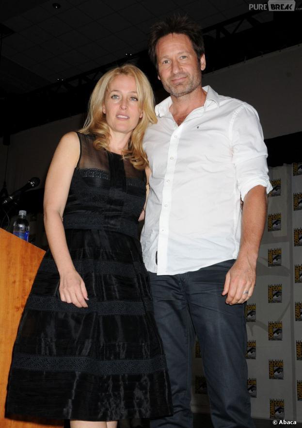 Gillian Anderson et David Duchovny parlent d'un film X-Files