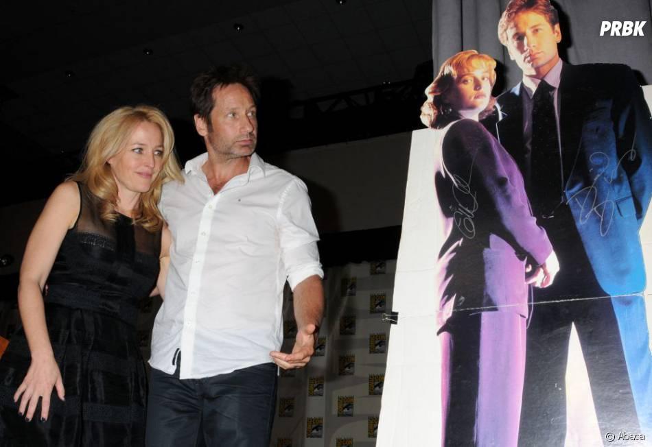 Gillian Anderson et David Duchovny :X-Files a déjà 20 ans
