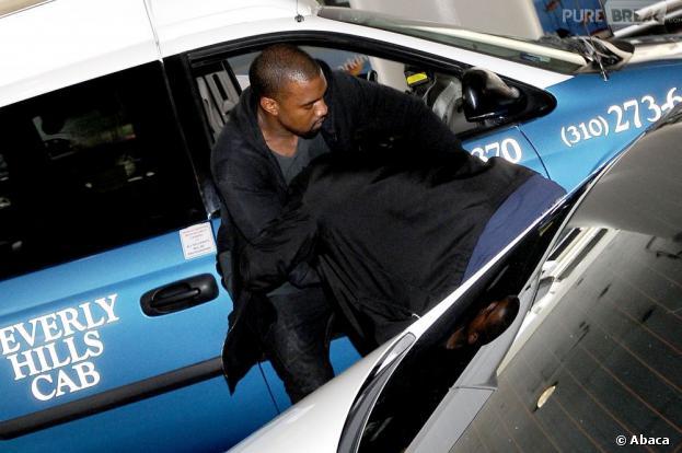 Kanye West agresse un paparazzi à Los Angerles le vendredi 19 juillet 2013