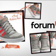 Adidas : Forum Up, des baskets compensées... aux talons amovibles