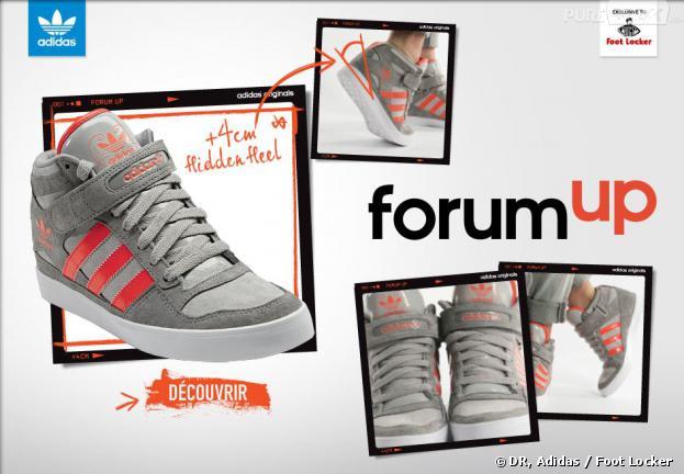 magasin en ligne d11bf 987cc Adidas : Forum Up, des baskets compensées... aux talons ...