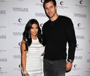 Kim Kardashian et son ex-mariKris Humphries
