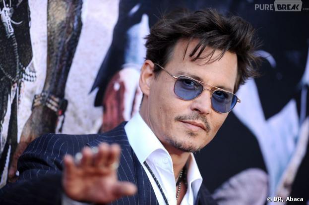 Johnny Depp àl'avant-première de Lone Ranger, le 22 juin 2013 à L.A