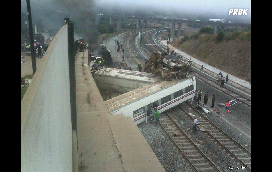 Accident de train en Espagne: 192 km/h au lieu de 80