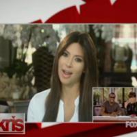 Kim Kardashian : première apparition post-grossesse dans l'émission de sa maman