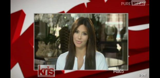 "Kim Kardashian se dévoile post-grossesse, le 2 août 2013 dans ""Kris"""