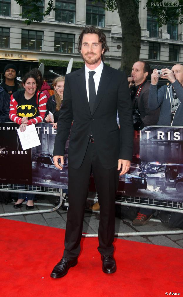 Christian Bale ne veut plus jouer Batman
