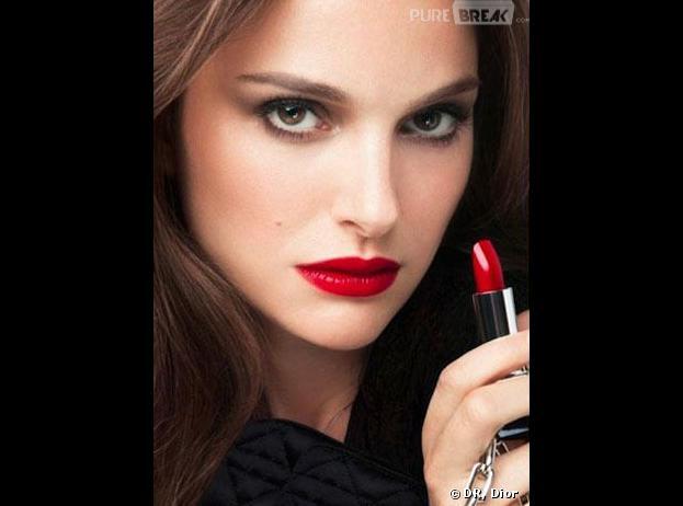 Natalie Portman en femme fatale pour Dior
