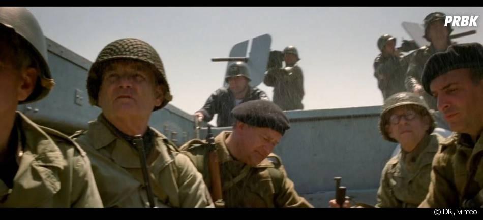 Jean Dujardin dans The Monuments Men, un film hollywoodien