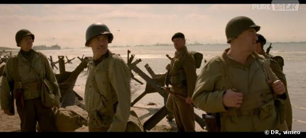 Jean dujardin l 39 un des h ros du film the monuments men for Nouveau film dujardin