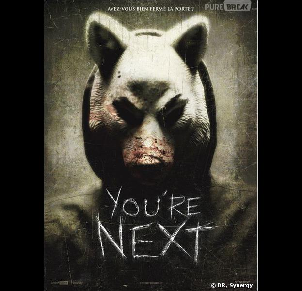 """You're next"", l'affiche"