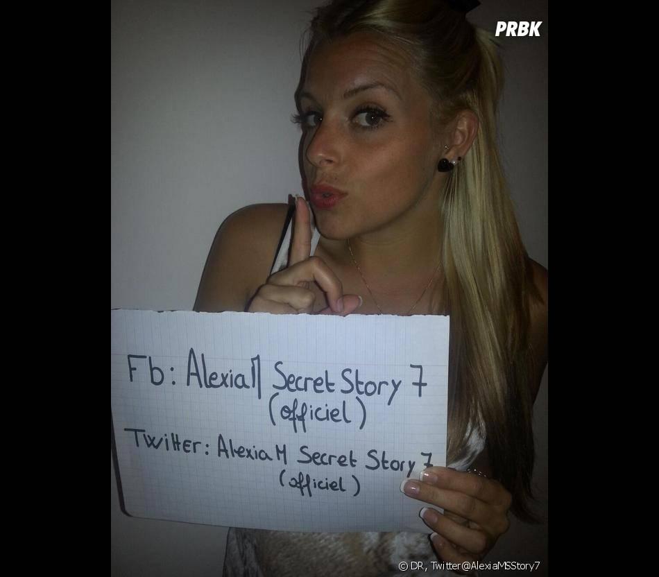 Secret Story 7 : Alexia en couple avant le jeu.