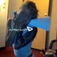 Aurélie Dotremont (les Anges 5) parodie la réaction d'Anaïs après le départ d'Eddy dans Secret Story 7
