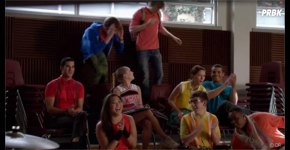 Glee saison 5 : ambiance décontractée pour les New Directions