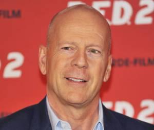 Bruce Willis a l'une des avant-premières de Red 2