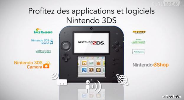 la nintendo 2ds est compatible avec tous les jeux 3ds. Black Bedroom Furniture Sets. Home Design Ideas