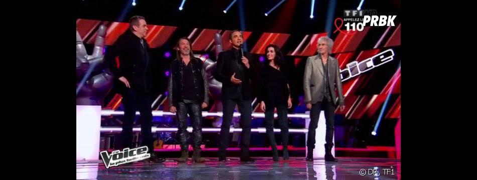 The Voice Kids : les jurés et Nikos Aliagas pas de la partie