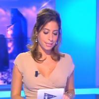 """Léa Salamé """"piégée"""" sur i-Télé : """"J'ai fait péter le décolleté"""""""