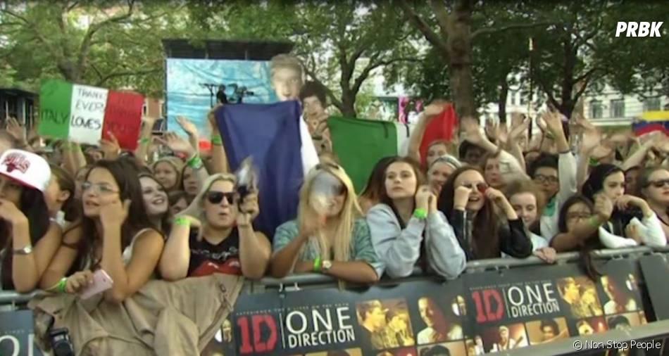 One Direction : hystérie et trac sur le tapis rouge de l'avant-première de This Is Us à Londres, le 20 août 2013