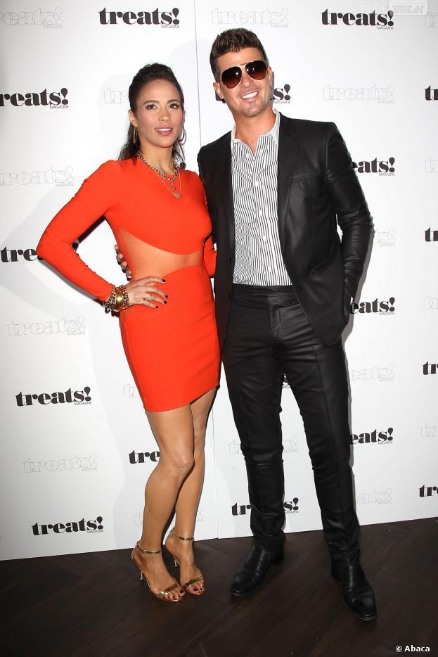 Robin Thicke : en mode lover dans les colonnes du magazine Prestige