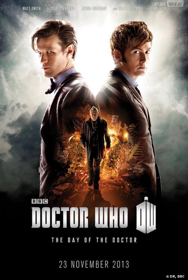 Doctor Who saison 7 : Un poster pour les 50 ans du show