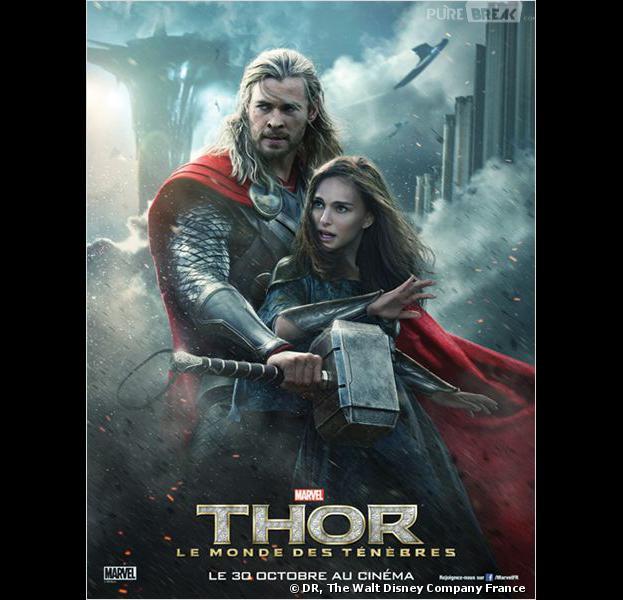 """""""Thor : le monde des ténèbres"""", l'affiche"""