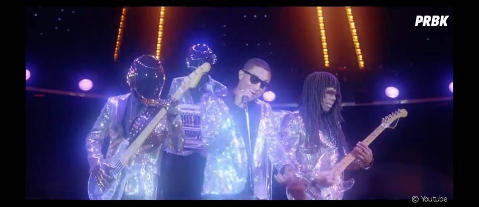 Daft Punk : Lose Yourself To Dance, le clip avec Pharrell Williams
