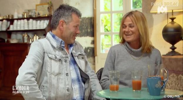 L'amour est dans le pré 2013 : Françoise et Titi s'échangent... des sextos.