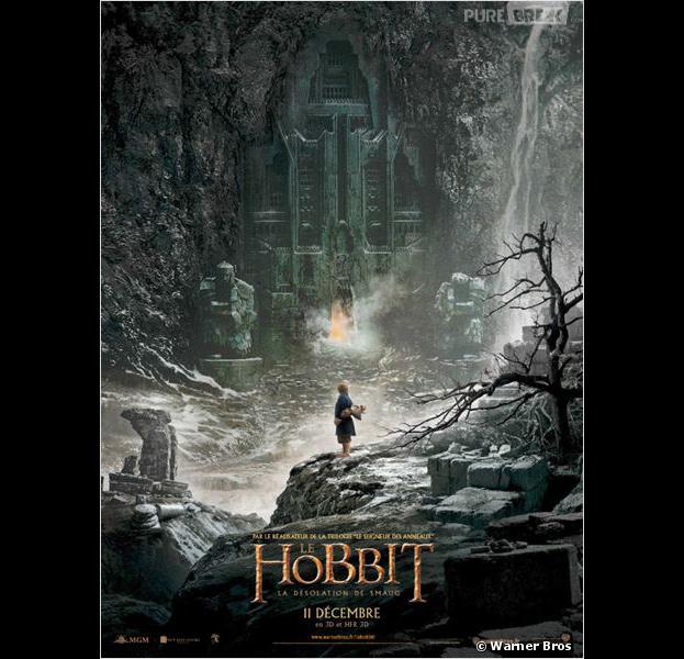 """""""Le Hobbit : la désolation de Smaug"""", l'affiche"""