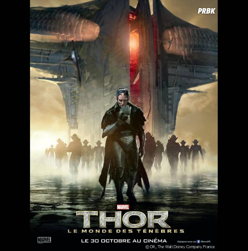 Thor 2 : l'affiche-personnage de Malekith