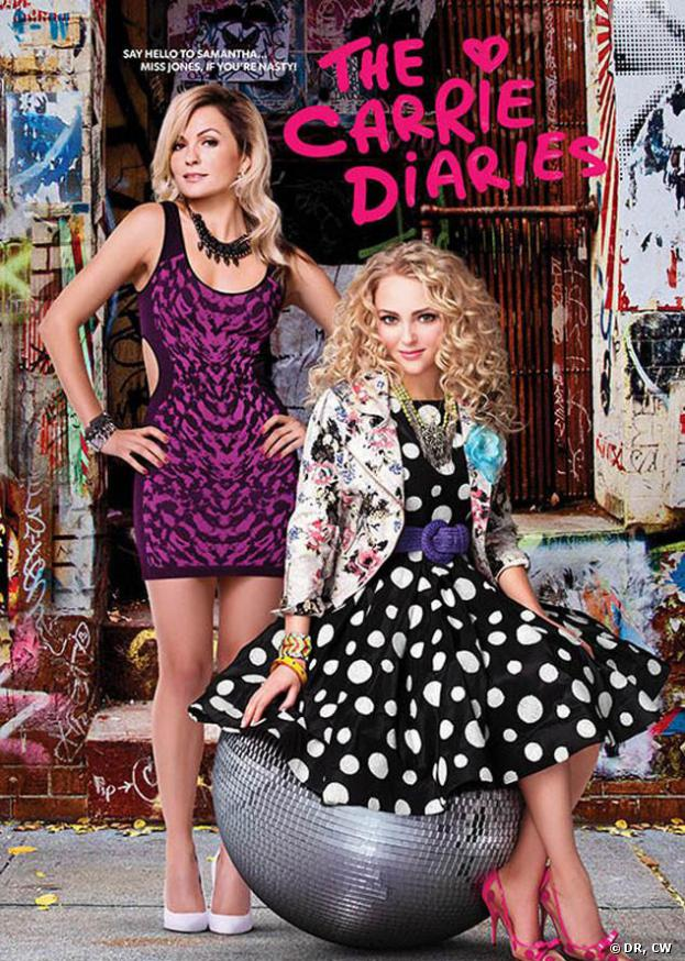 The Carrie Diaries saison 2 : poster avec Samantha et Carrie