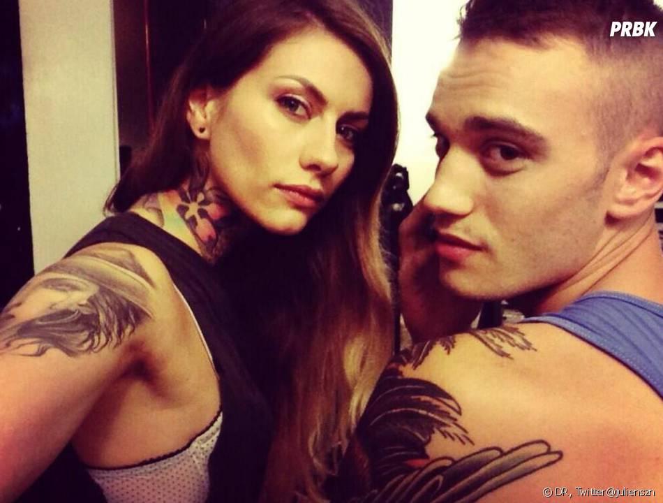 Secret Story 7 : Julien et Fanny toujours aussi complices.
