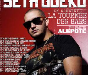 """Seth Gueko fait sa """"Tournée des bars"""" dans toute la France dès le 27 septembre 2013"""