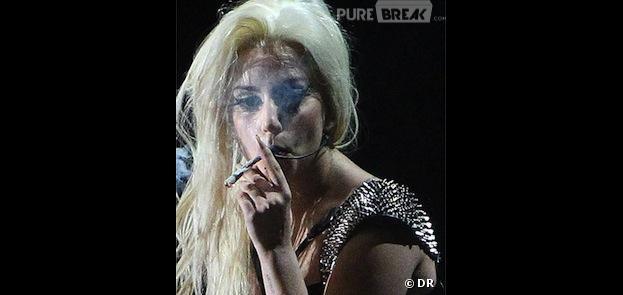 Lady Gaga avait fumé un joint sur scène lors d'un concert à Amsterdam en septembre 2012