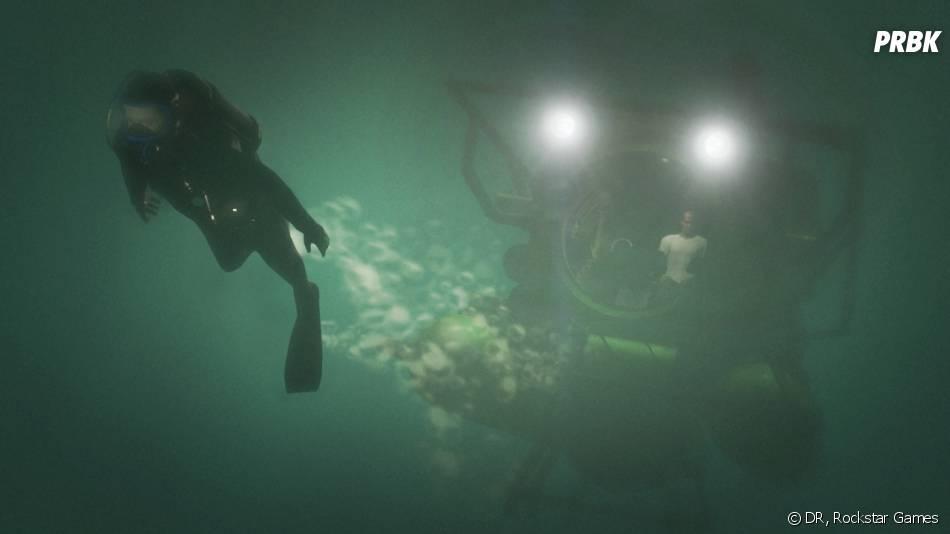 GTA 5 : il y a aura des nouvelles séquences de plongée sous-marine