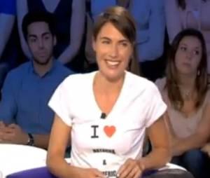 Alessandra Sublet : le producteur de l'émission Fais-moi une place parle d'un mensonge.