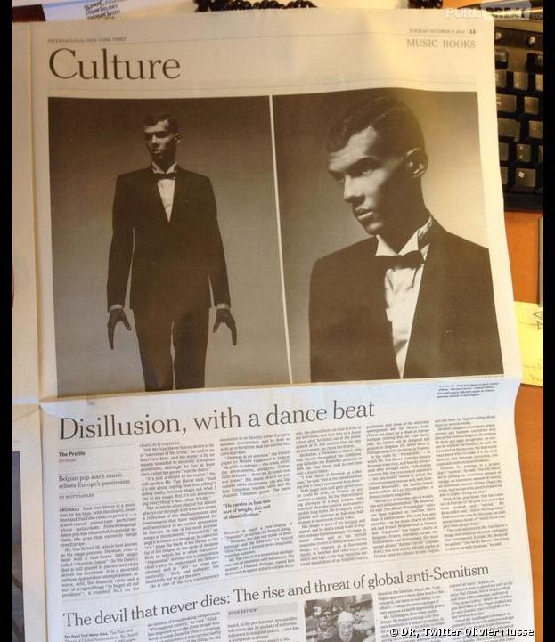 Stromae : son portrait dans le New York Times, le 14 octobre 2013