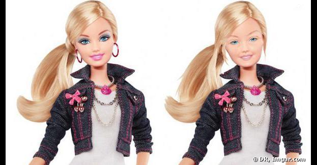 Barbie se dévoile... sans maquillage.