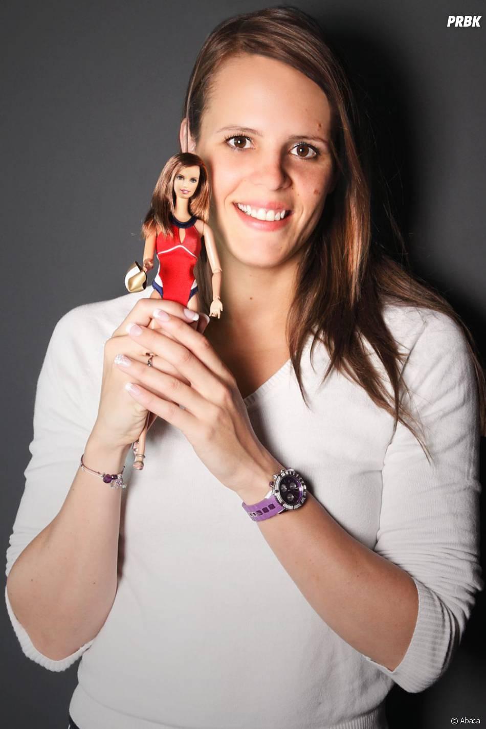 Laure Manaudou a eu l'honneur d'avoir sa propre Barbie