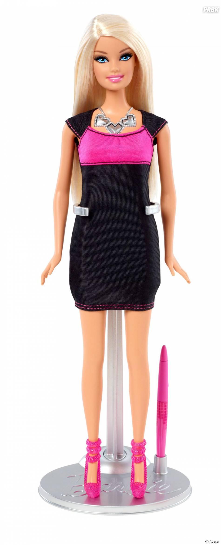 Barbie, la vraie, avec maquillage.