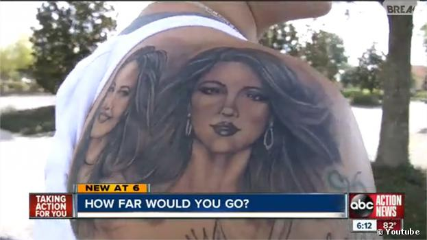 Selena Gomez : la soeur d'une fan se fait tatouer le visage de la chanteuse pour gagner des places de concert
